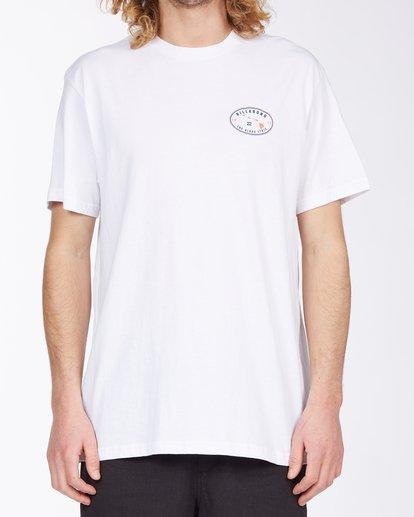0 Roller Hawaii Short Sleeve T-Shirt White ABYZT00357 Billabong