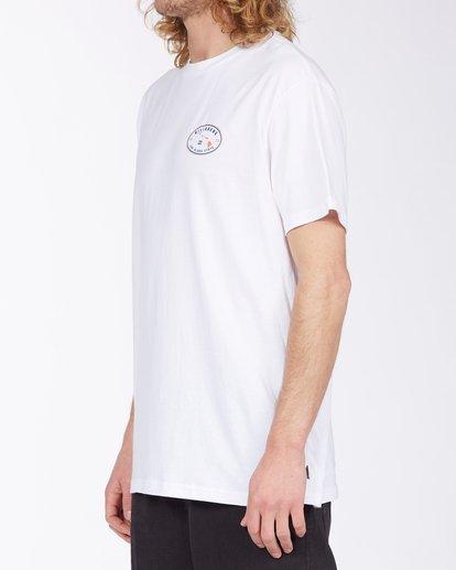 1 Roller Hawaii Short Sleeve T-Shirt White ABYZT00357 Billabong