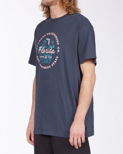 1 Seal Florida Short Sleeve T-Shirt Blue ABYZT00359 Billabong