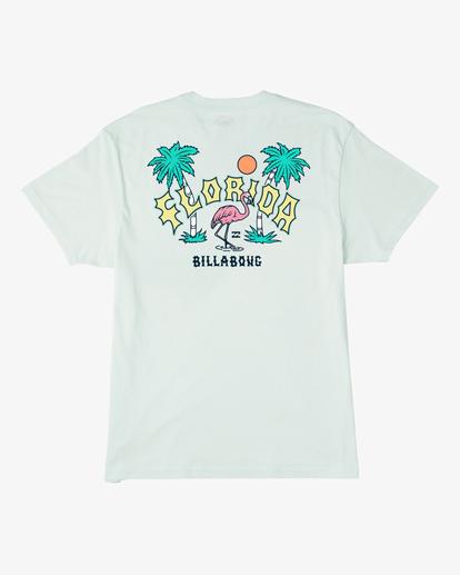 1 Arch Florida Short Sleeve T-Shirt Multicolor ABYZT00360 Billabong