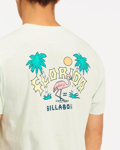 3 Arch Florida Short Sleeve T-Shirt Multicolor ABYZT00360 Billabong