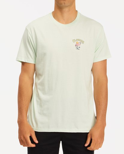 0 Arch Florida Short Sleeve T-Shirt Multicolor ABYZT00360 Billabong
