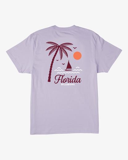 1 Daysailor Florida Short Sleeve T-Shirt Purple ABYZT00361 Billabong