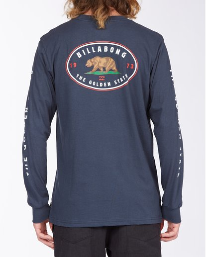 3 Roller California Long Sleeve T-Shirt Blue ABYZT00363 Billabong