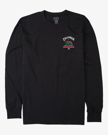 3 Arch California Long Sleeve T-Shirt Black ABYZT00364 Billabong