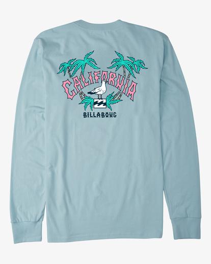 6 Arch California Long Sleeve T-Shirt Blue ABYZT00364 Billabong