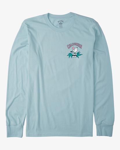 5 Arch California Long Sleeve T-Shirt Blue ABYZT00364 Billabong