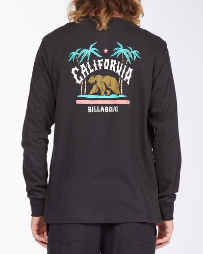 2 Arch California Long Sleeve T-Shirt Black ABYZT00364 Billabong