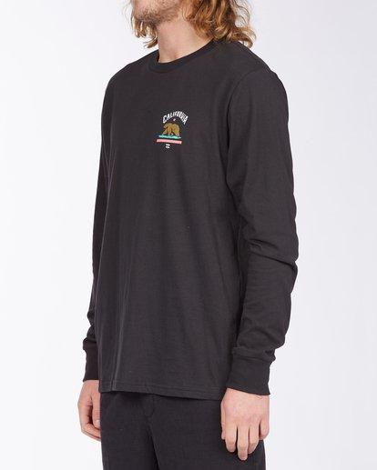 1 Arch California Long Sleeve T-Shirt Black ABYZT00364 Billabong