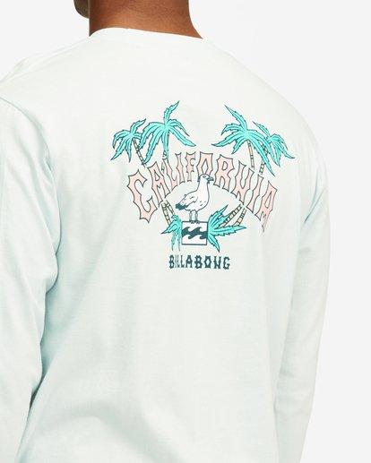 3 Arch California Long Sleeve T-Shirt Blue ABYZT00364 Billabong