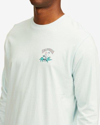 4 Arch California Long Sleeve T-Shirt Blue ABYZT00364 Billabong