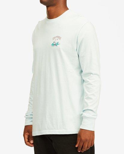 1 Arch California Long Sleeve T-Shirt Blue ABYZT00364 Billabong
