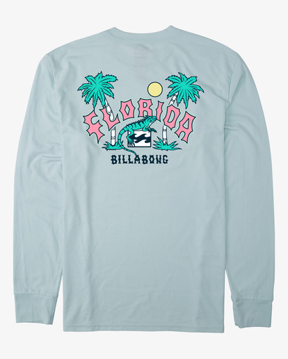 6 Arch Florida Long Sleeve T-Shirt Multicolor ABYZT00367 Billabong