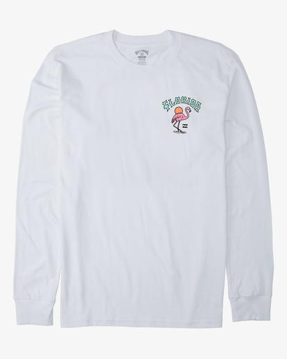 3 Arch Florida Long Sleeve T-Shirt White ABYZT00367 Billabong
