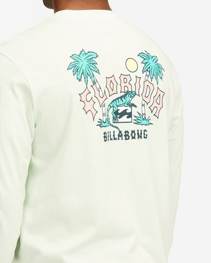 3 Arch Florida Long Sleeve T-Shirt Multicolor ABYZT00367 Billabong