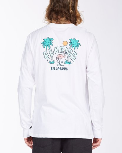 2 Arch Florida Long Sleeve T-Shirt White ABYZT00367 Billabong