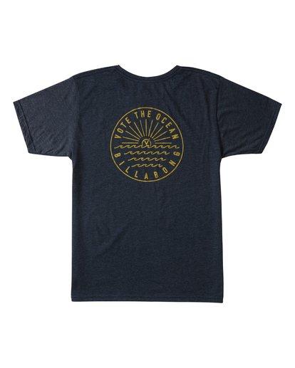 1 Rays Short Sleeve T-Shirt Blue ABYZT00371 Billabong
