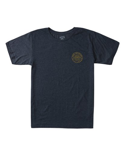 0 Rays Short Sleeve T-Shirt Blue ABYZT00371 Billabong