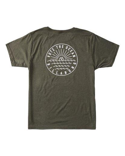 1 Rays Short Sleeve T-Shirt Green ABYZT00371 Billabong