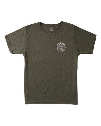 0 Rays Short Sleeve T-Shirt Green ABYZT00371 Billabong