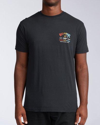 0 Pipe Masters Short Sleeve T-Shirt Black ABYZT00376 Billabong