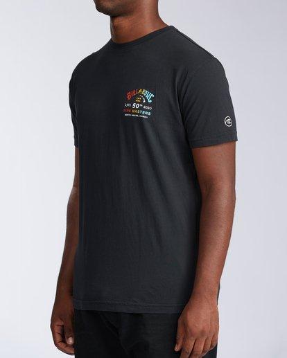 1 Pipe Masters Short Sleeve T-Shirt Black ABYZT00376 Billabong