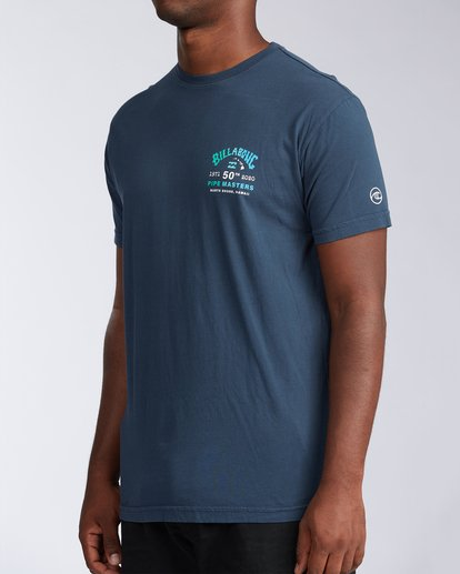 1 Pipe Masters Short Sleeve T-Shirt Blue ABYZT00376 Billabong