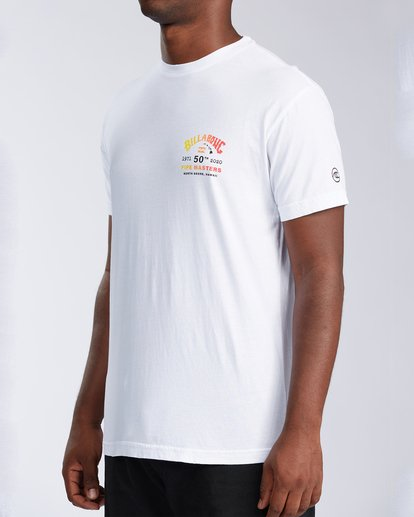 1 Pipe Masters Short Sleeve T-Shirt White ABYZT00376 Billabong