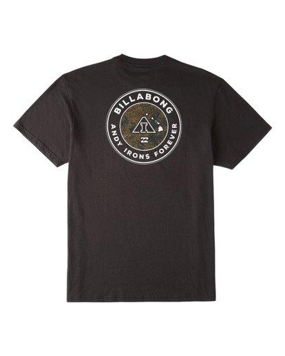 1 AI Forever Short Sleeve T-Shirt Black ABYZT00382 Billabong