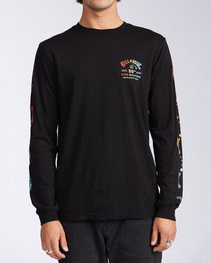0 Pipe Masters Long Sleeve T-Shirt Black ABYZT00387 Billabong