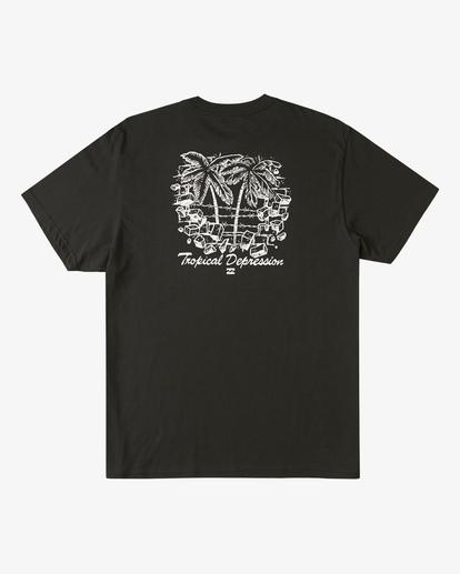 6 Tropical Depression Short Sleeve T-Shirt Black ABYZT00390 Billabong