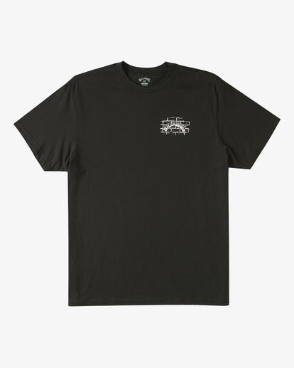 5 Tropical Depression Short Sleeve T-Shirt Black ABYZT00390 Billabong