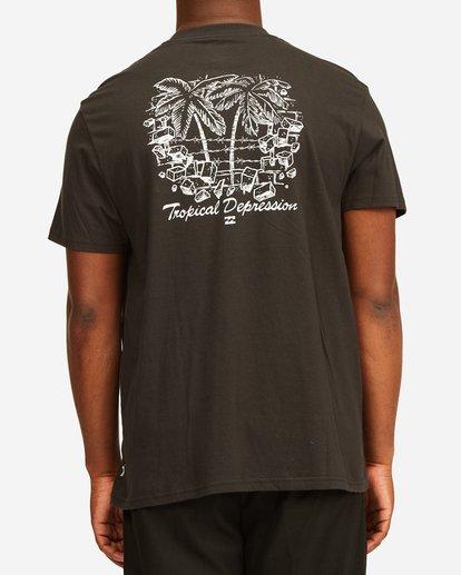 2 Tropical Depression Short Sleeve T-Shirt Black ABYZT00390 Billabong