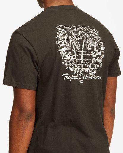3 Tropical Depression Short Sleeve T-Shirt Black ABYZT00390 Billabong