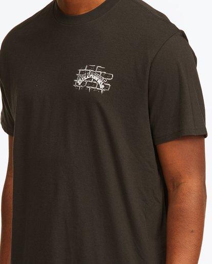 4 Tropical Depression Short Sleeve T-Shirt Black ABYZT00390 Billabong