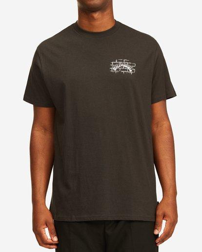 0 Tropical Depression Short Sleeve T-Shirt Black ABYZT00390 Billabong