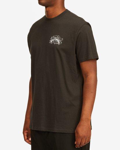 1 Tropical Depression Short Sleeve T-Shirt Black ABYZT00390 Billabong