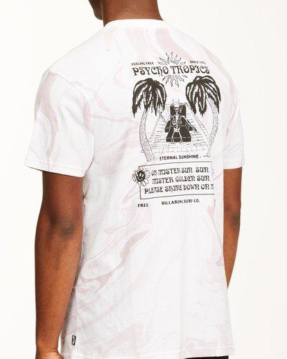 3 Eternal Sunshine Short Sleeve T-Shirt White ABYZT00393 Billabong