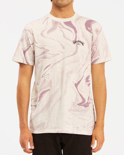 0 Marble Arch Short Sleeve T-Shirt White ABYZT00395 Billabong