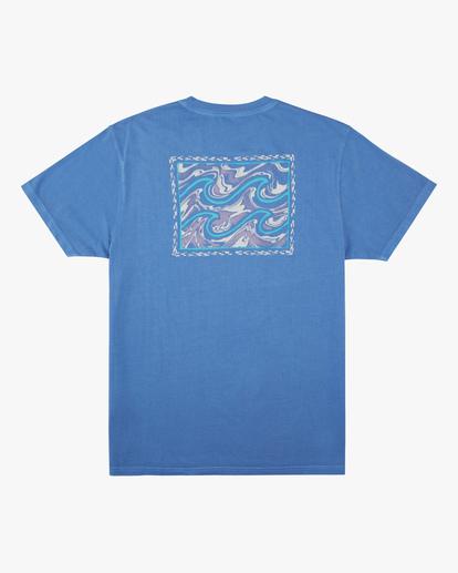 5 Crayon Wave Washed Short Sleeve T-Shirt Blue ABYZT00397 Billabong