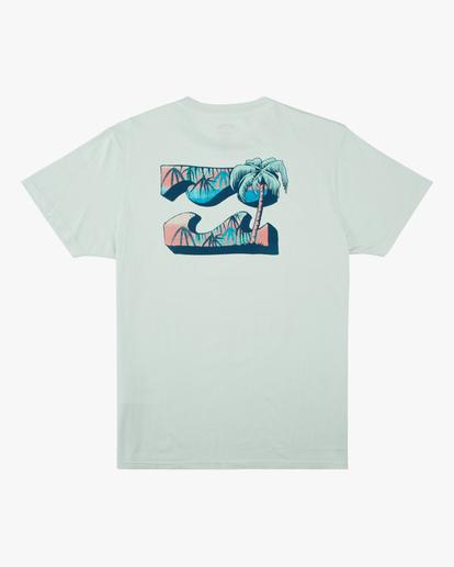 5 Crayon Wave Washed Short Sleeve T-Shirt Multicolor ABYZT00397 Billabong