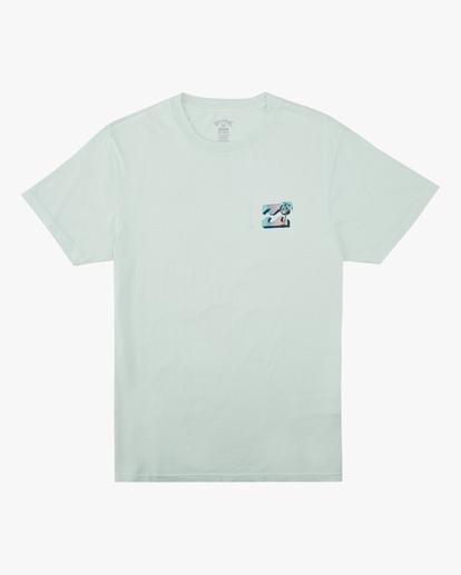 4 Crayon Wave Washed Short Sleeve T-Shirt Multicolor ABYZT00397 Billabong