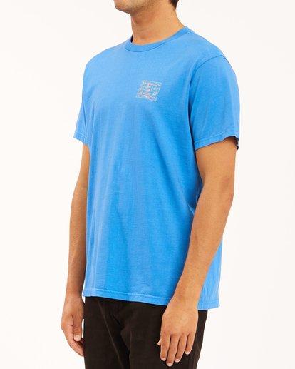 1 Crayon Wave Washed Short Sleeve T-Shirt Blue ABYZT00397 Billabong