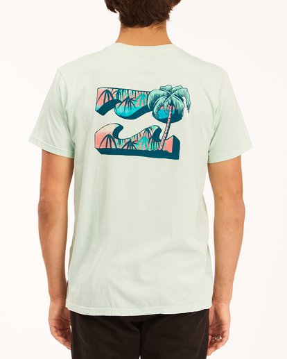 2 Crayon Wave Washed Short Sleeve T-Shirt Multicolor ABYZT00397 Billabong