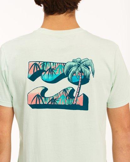 3 Crayon Wave Washed Short Sleeve T-Shirt Multicolor ABYZT00397 Billabong