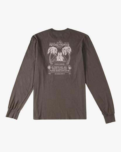 7 Eternal Sunshine Long Sleeve Wave Washed T-Shirt White ABYZT00400 Billabong