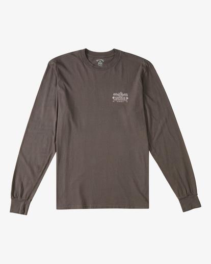 6 Eternal Sunshine Long Sleeve Wave Washed T-Shirt White ABYZT00400 Billabong