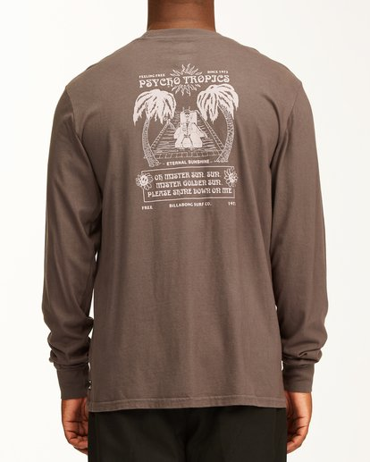 3 Eternal Sunshine Long Sleeve Wave Washed T-Shirt White ABYZT00400 Billabong