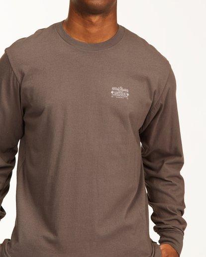 4 Eternal Sunshine Long Sleeve Wave Washed T-Shirt White ABYZT00400 Billabong