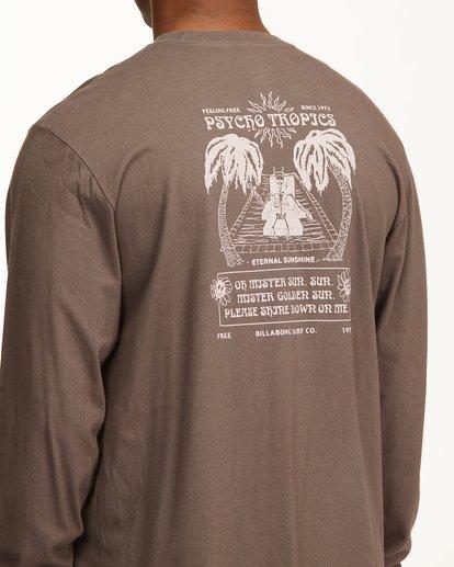5 Eternal Sunshine Long Sleeve Wave Washed T-Shirt White ABYZT00400 Billabong